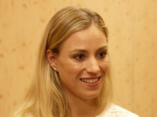 Angelique Kerber at Marina Bay Sands