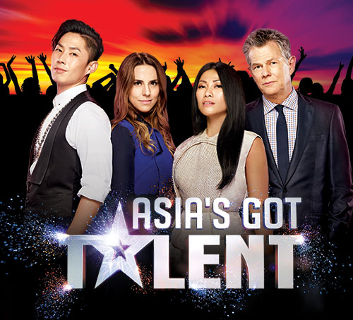 Asia's Got Talent Judges at Marina Bay Sands