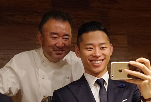 Celebrity Chef owner Tetsuya Wakuda at Marina Bay Sands