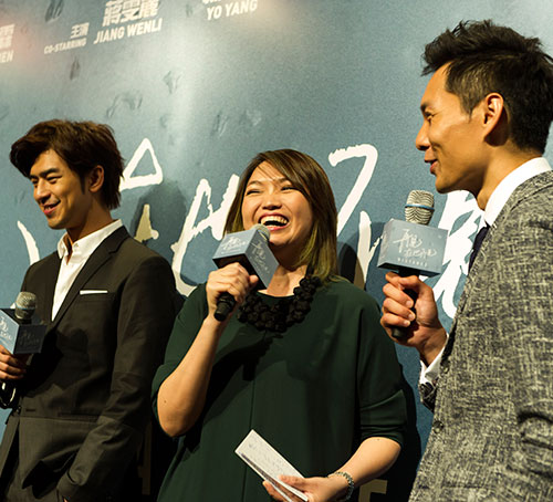 Anthony Chen at the Premiere of Distance at Marina Bay Sands