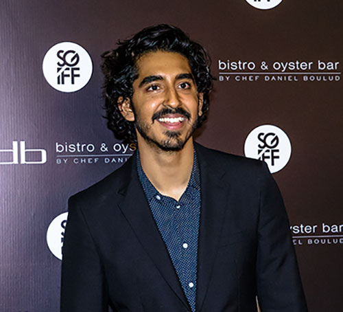 Dev Patel at Marina Bay Sands
