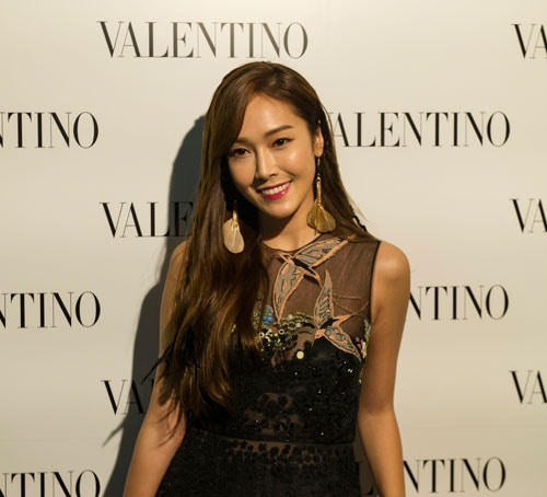 Jessica Jung at Marina Bay Sands