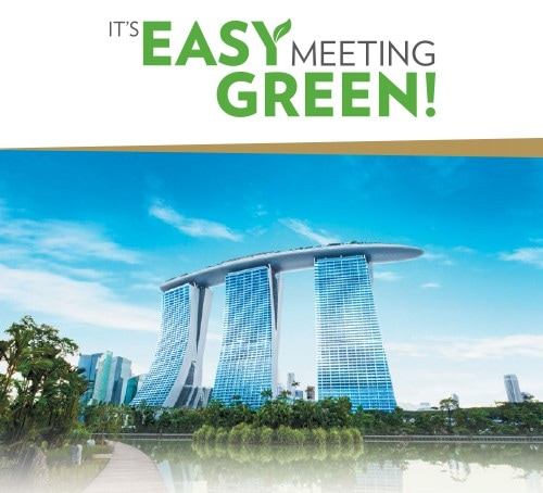 'It's Easy Meeting Green!' All-inclusive Meeting Package at Marina Bay Sands
