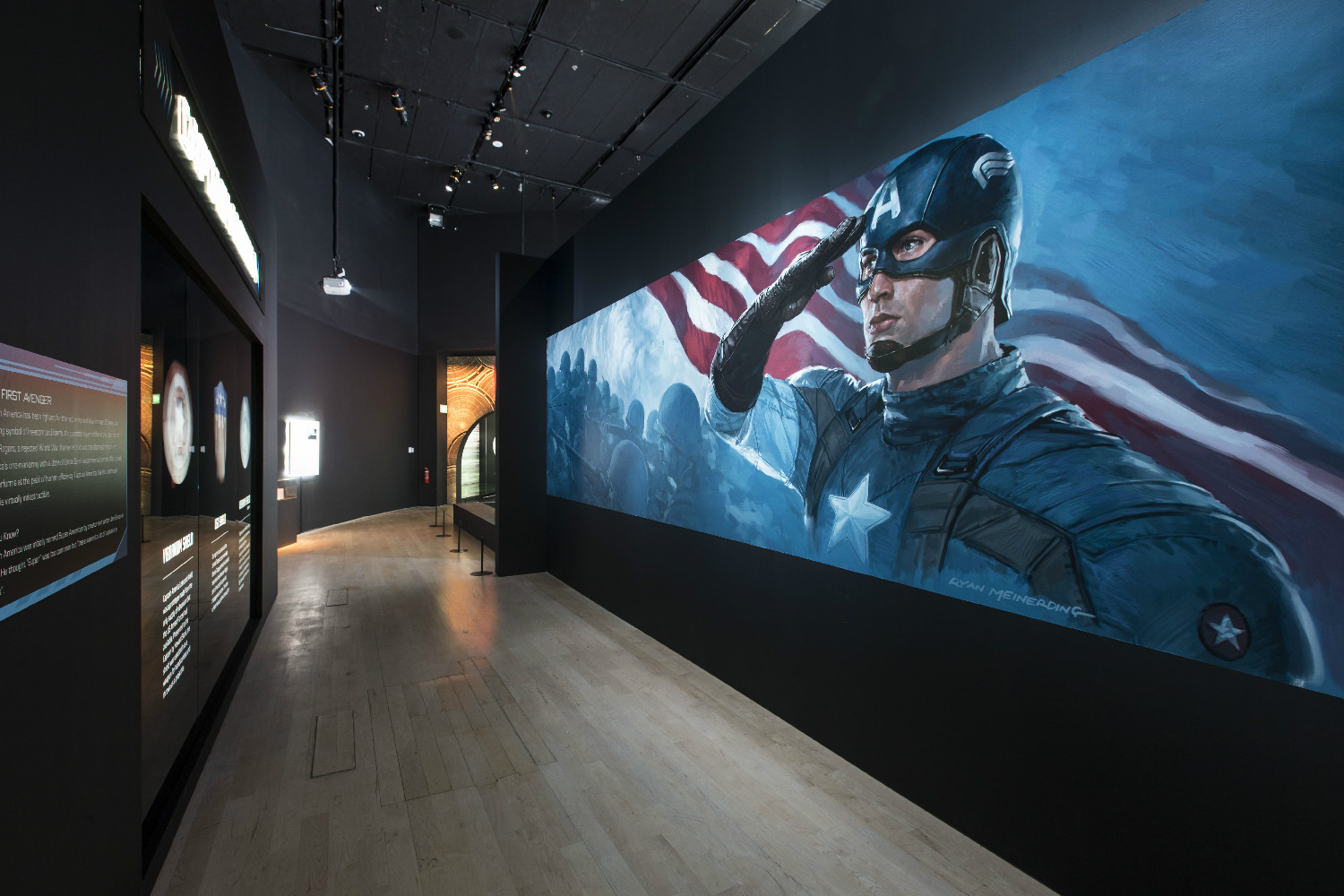 Captain America - Marvel Exhibition at ArtScience Museum