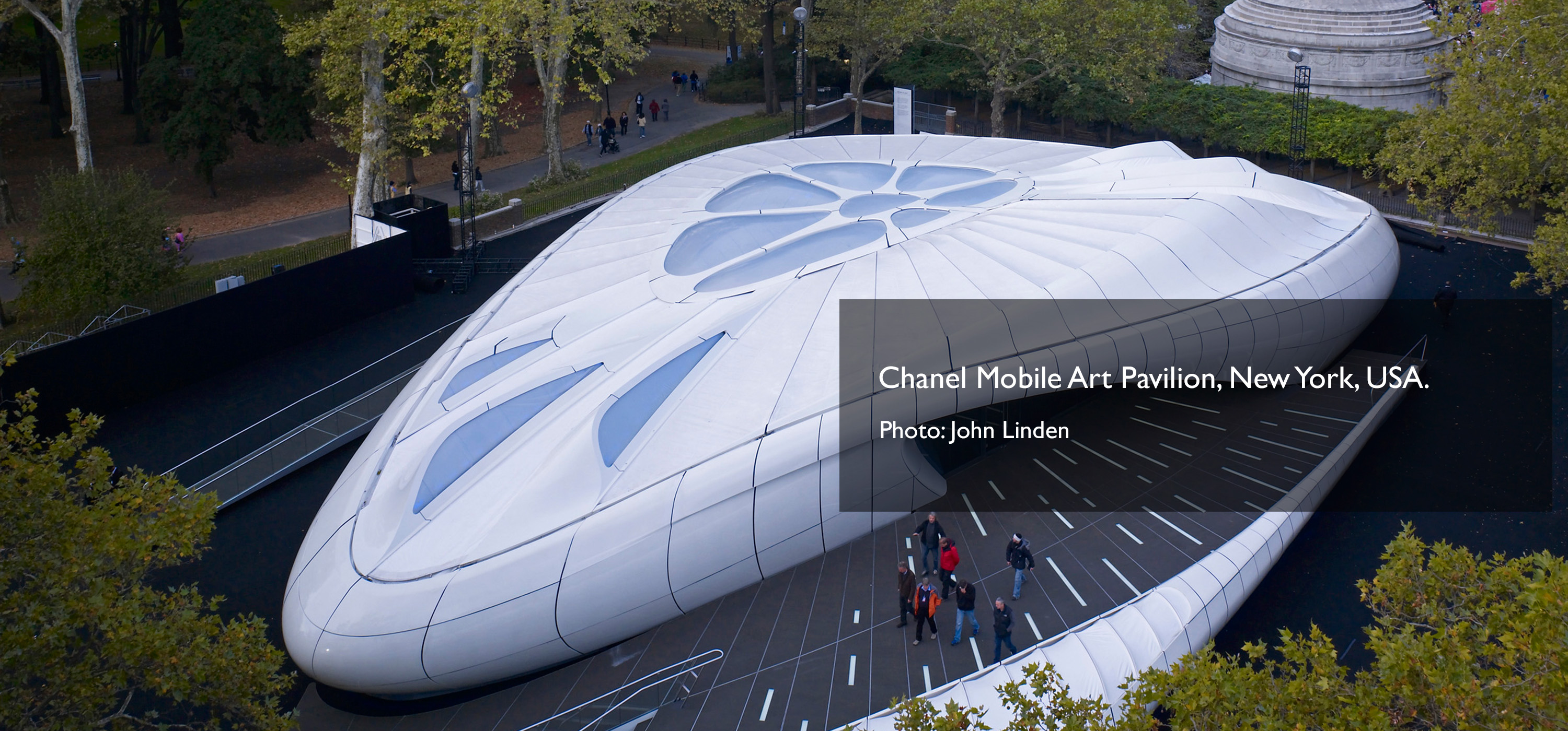 Chanel Mobile Art Pavilion