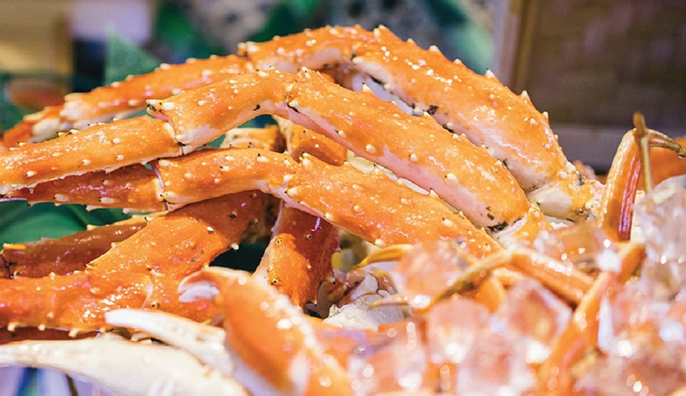 Crab Sea & Blue Buffet