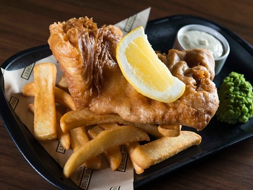 Fish and Chips at Bread Street Kitchen