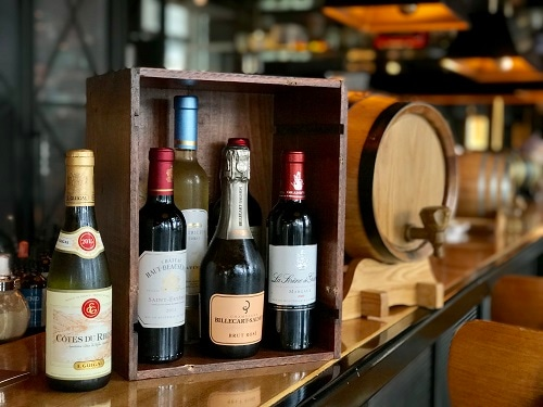 Half bottle wines promotion at Bread Street Kitchen