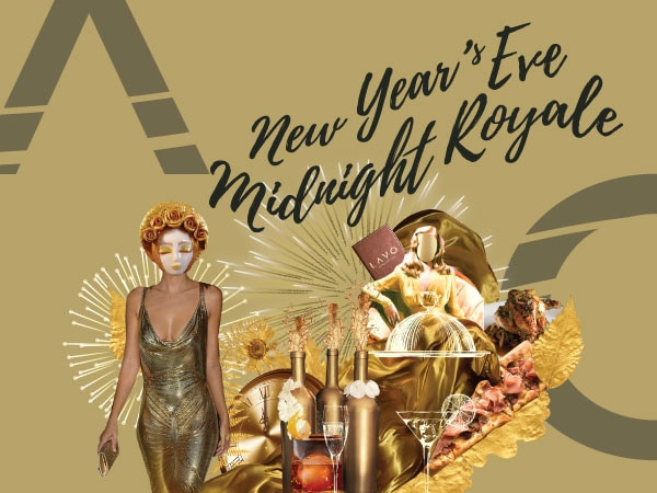 LAVO New Year's Eve Countdown Party, Midnight Royale