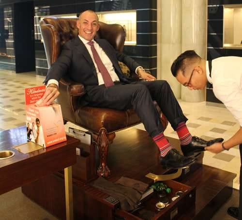 Shoe Shine for Charity