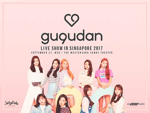 gugudan Live show in Singapore 2017 - Marina Bay Sands Entertainment