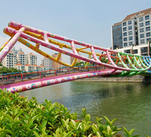 Alkaff Bridge Singapore