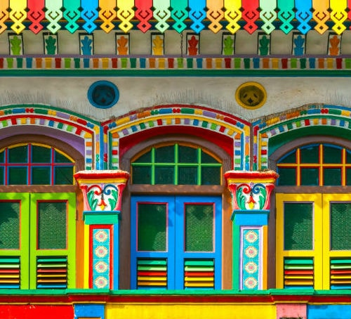 Colourful Shophouse
