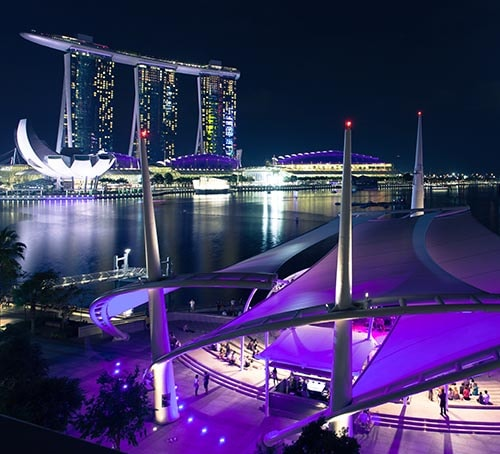 Arts Festivals in Singapore, Singapore Visitors Guide, Marina Bay Sands