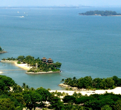 Smaller islands of Singapore