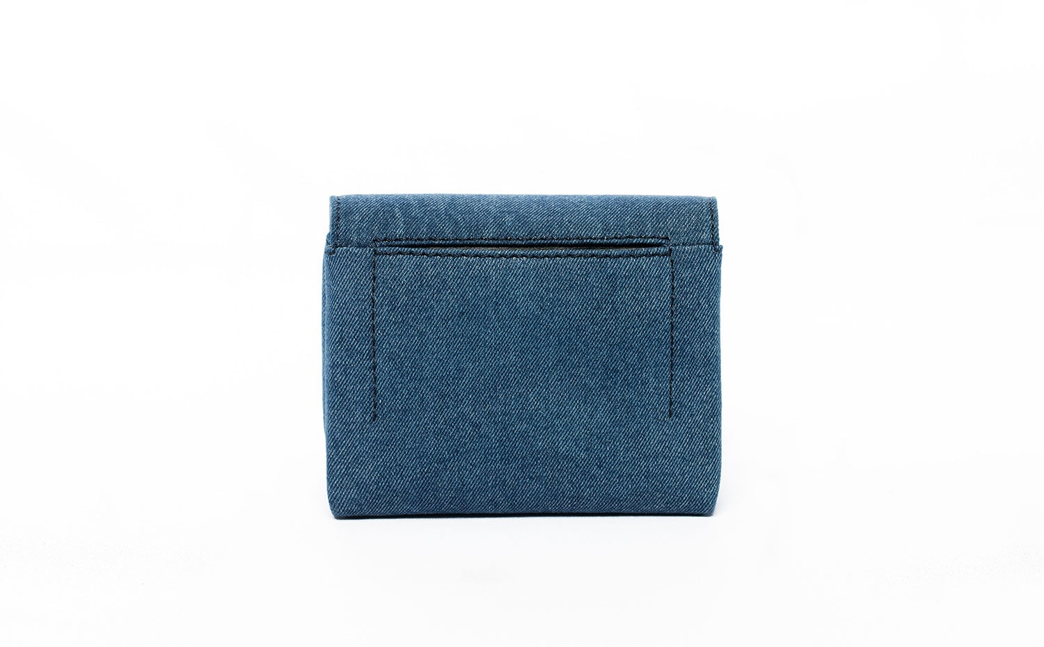 3.1 Phillip Lim: ALIX Soft Flap Clutch in Washed Indigo