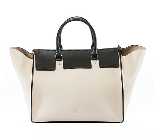 CH Carolina Herrera: Vendome Bag in Black and White