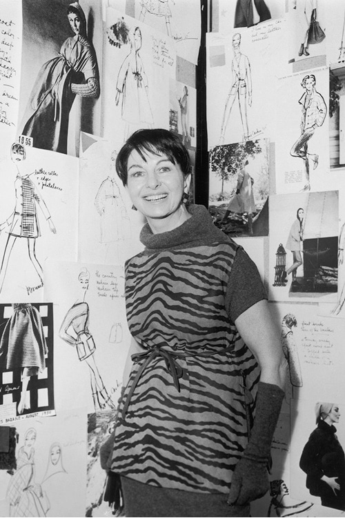 Bonnie Cashin, first creative director for Coach