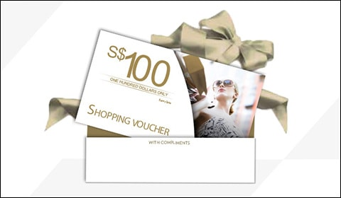 Shopping Vouchers at Front Row