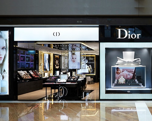 Marina Bay Sandsのザ・ショップスのParfums Christian Dior